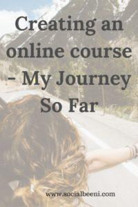 Online Course Journey