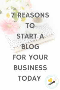7 reasons to start a blog for your business today