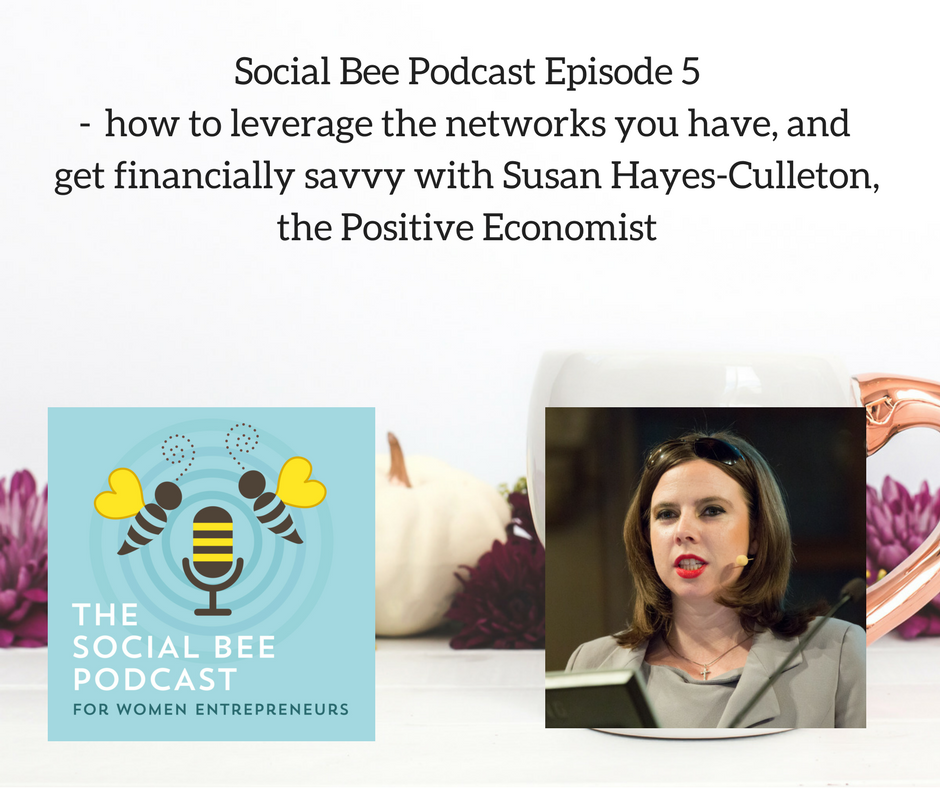 podcast with Susan Hayes Culleton - women entrepreneurs