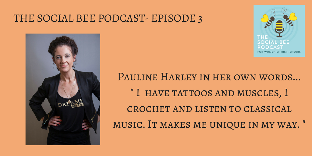 Social Bee Podcast with Pauline Harley