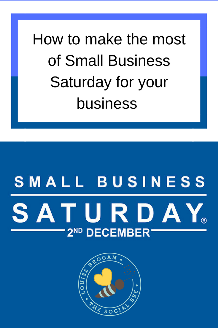 SMall Business Saturday Entrepreneur SmallBIz100