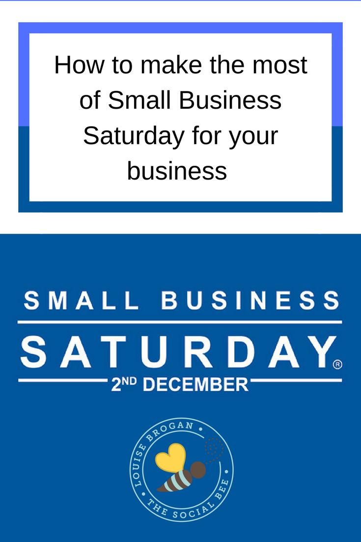SMall Business Saturday Entrepreneur SmallBIz100