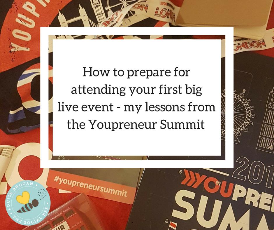 youpreneur summit, liveevent, prepare for live event, networking, entrepreneur