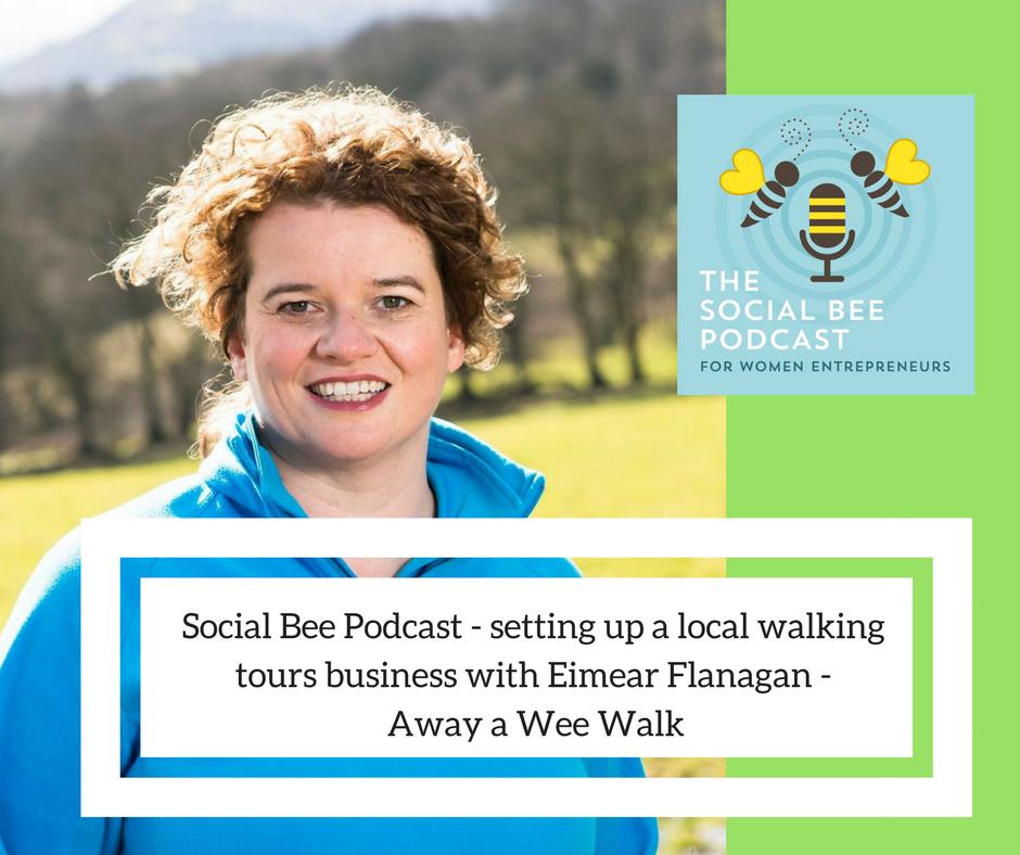 walking tours on Irish coast, away a wee walk, women podcast, entrepreneurs, Game of Thrones, IRish walking tours, women entrepreneurs, causeway coast walking tour