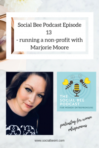 Marjorie Moore non profit, entrepreneurship