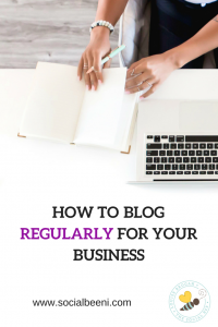 blogging for business, entrepreneur, working from home, solopreneur, blog, social media marketing, small business, startup