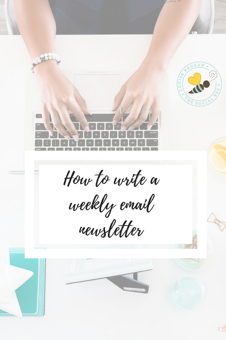 how to write aweeklyemail to your list - whatto write about, how to grow your list, how to find topics for content