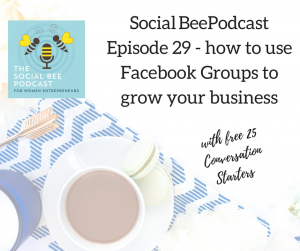 facebook groups for business, podcast, women in tech, women entrepreneurs