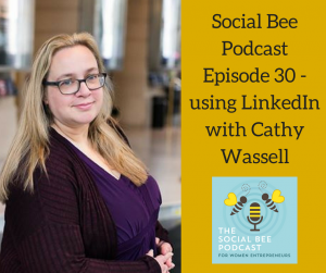 linkedin podcast episode,  women entrerpreneurs,  online business