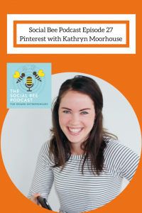 Pinterest training on podcast