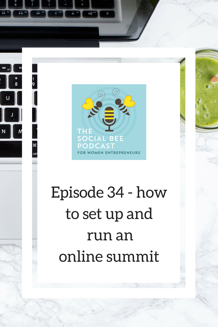 how to run an online summit