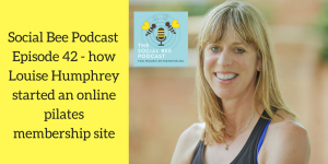 online pilates podcast, women in business