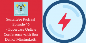 podcast with Benjamin Dell, MissingLetter, online conference