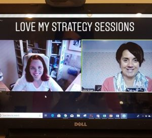 online coaching session