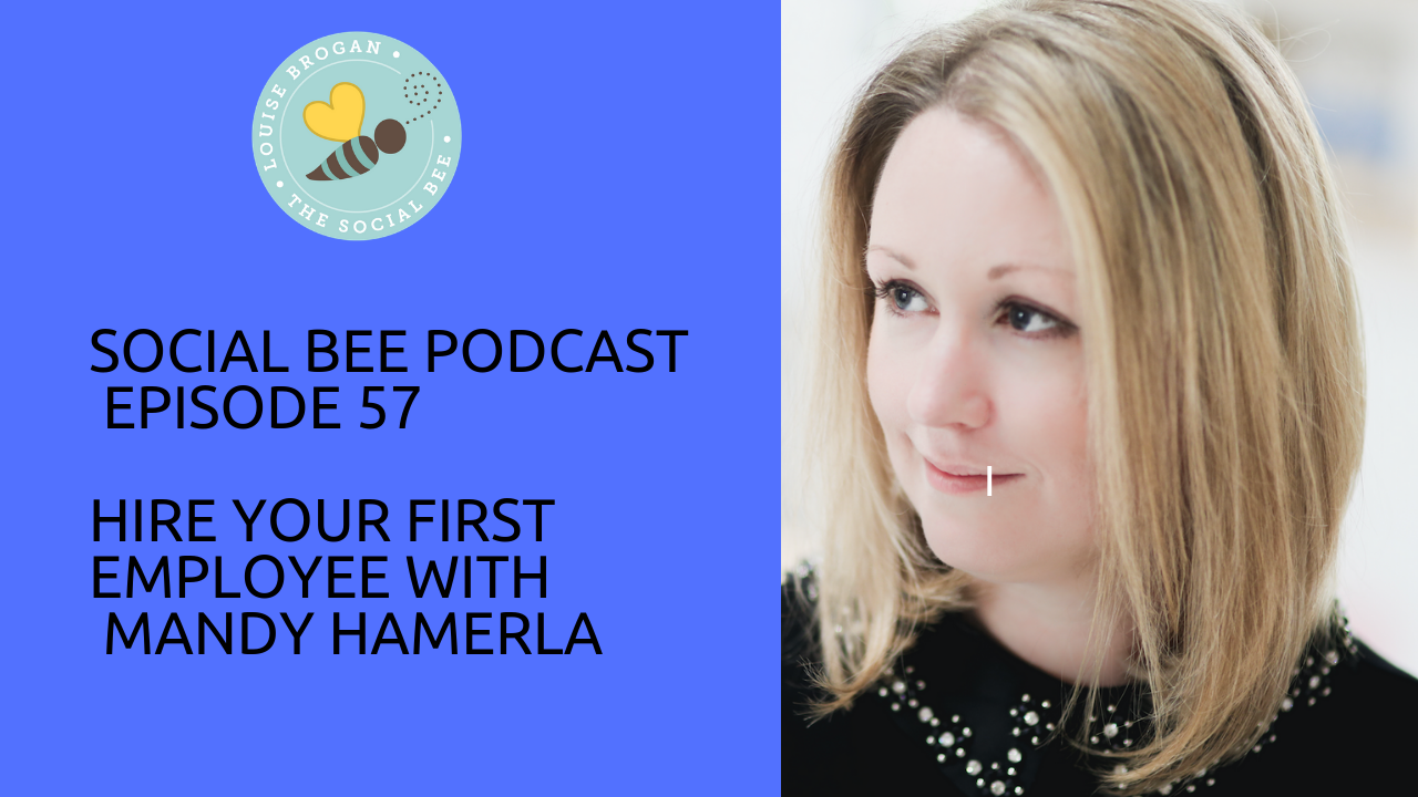 women entrepreneurs podcast with Mandy HAmerla - hiring your first employee for entrepreneurs