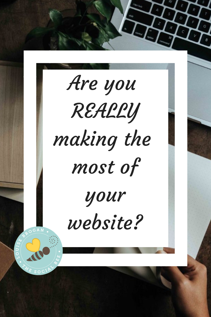 make the most of your website