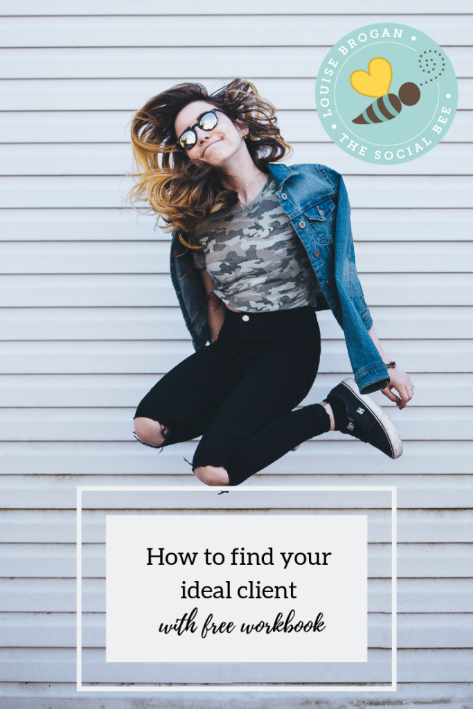 How to find your ideal client online.  When you are building your business, once you can identify your ideal client, everything else falls in to place.