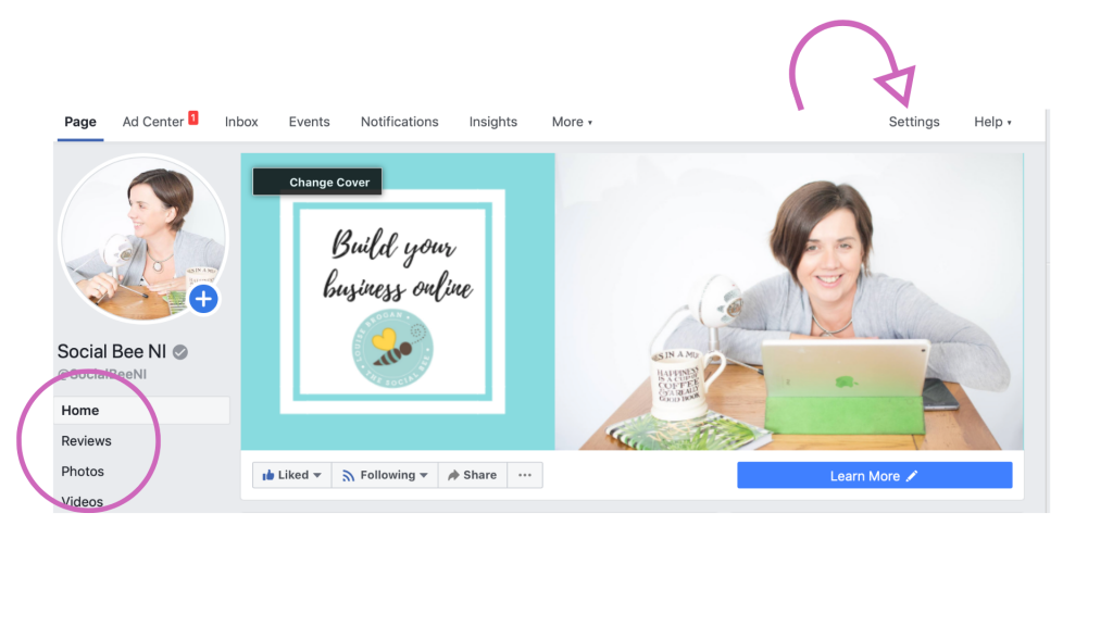 how to add facebook page reviews