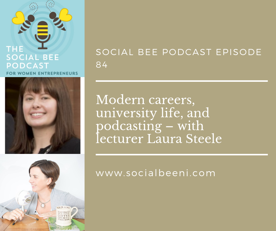 podcasting with Dr Laura Steele