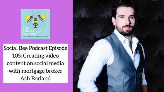 Social Bee Podcast with Ash Borland